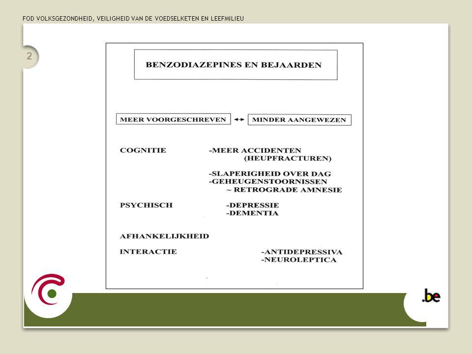 FOD VOLKSGEZONDHEID, VEILIGHEID VAN DE VOEDSELKETEN EN LEEFMILIEU 13 WAAROM EEN HULPMIDDELENBOEK VOOR HUISARTSEN MODULE AFBOUW CHRONISCH BENZODIAZEPINEGEBRUIK STAP 4: Het afbouwen - Basisprincipe: geleidelijke afbouw - Omzetting naar diazepam (voor- en nadelen) - Algemene regels bij het opstellen van het afbouwschema - Plaats van hulpmedicatie - Regelmatige opvolging SAMENWERKING MET APOTHEKER STAP 5: Wat te doen bij herval.