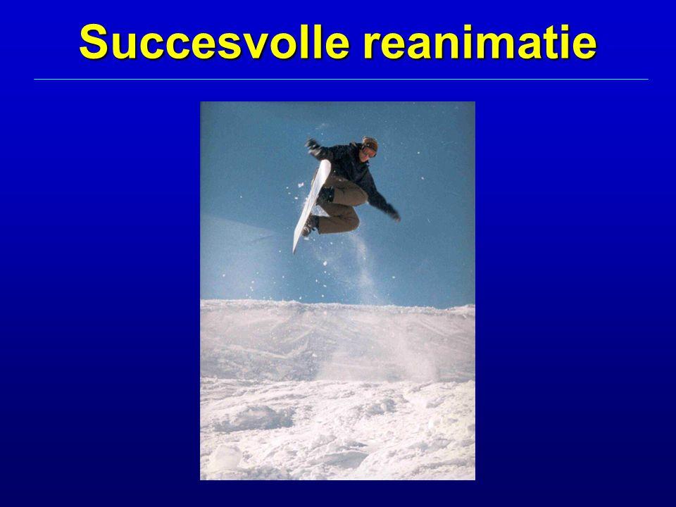 Succesvolle reanimatie