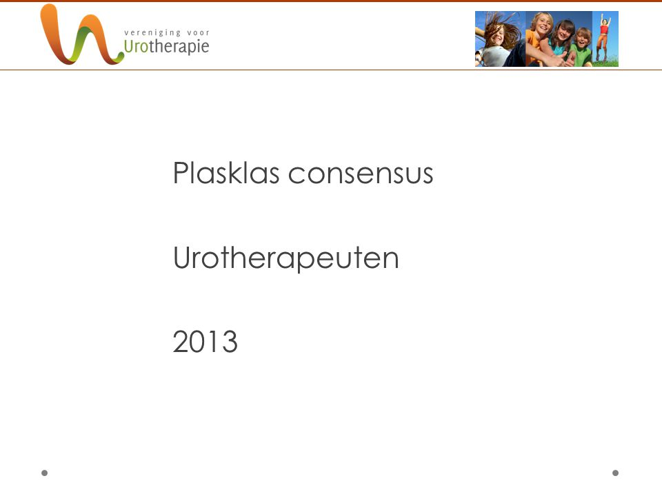 Plasklas consensus Urotherapeuten 2013