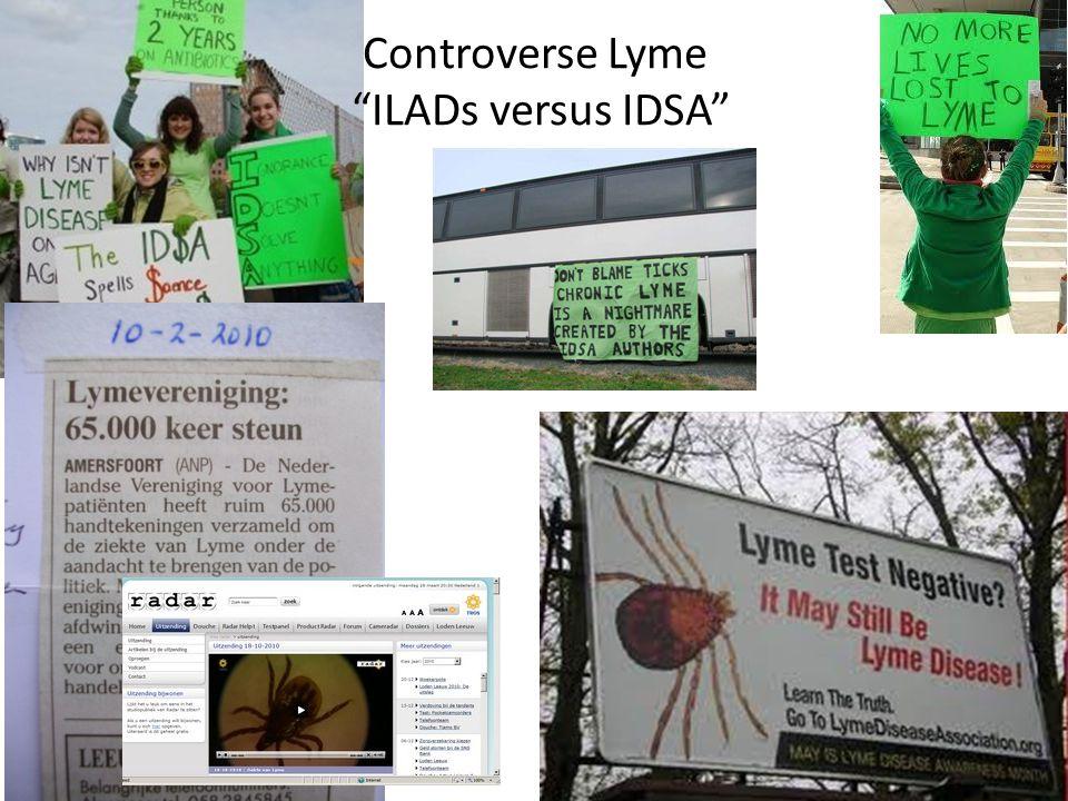 "Controverse Lyme ""ILADs versus IDSA"""