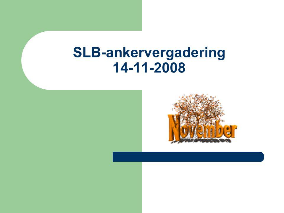 SLB-ankervergadering 14-11-2008