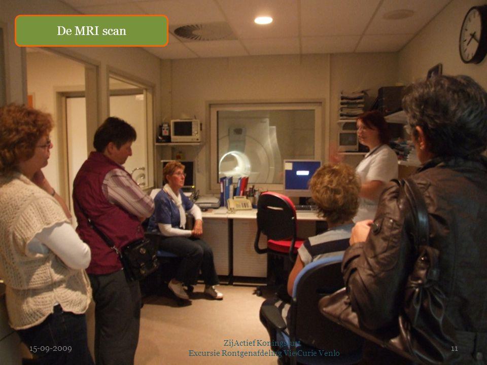 15-09-2009 ZijActief Koningslust Excursie Rontgenafdeling Vie Curie Venlo 11 De MRI scan