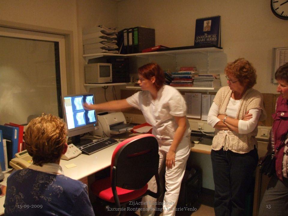 15-09-2009 ZijActief Koningslust Excursie Rontgenafdeling Vie Curie Venlo 13