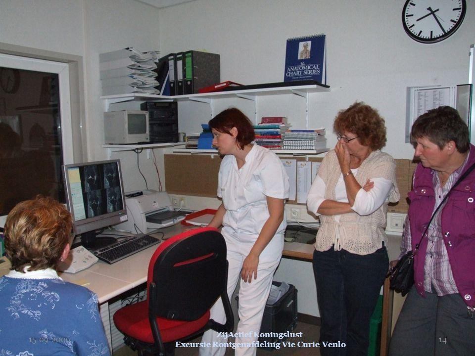 15-09-2009 ZijActief Koningslust Excursie Rontgenafdeling Vie Curie Venlo 14