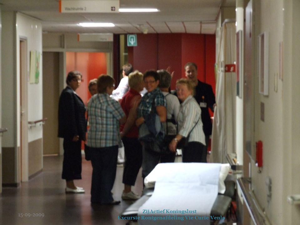 15-09-2009 ZijActief Koningslust Excursie Rontgenafdeling Vie Curie Venlo 17
