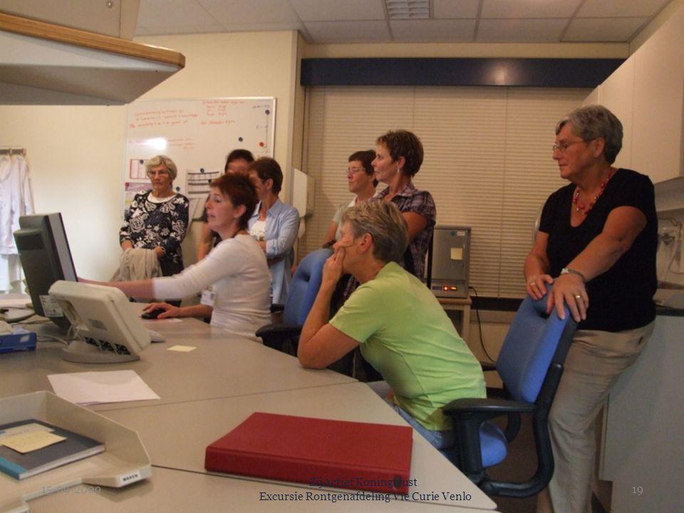 15-09-2009 ZijActief Koningslust Excursie Rontgenafdeling Vie Curie Venlo 19