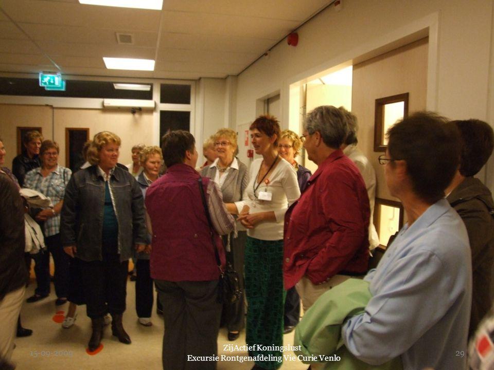 15-09-2009 ZijActief Koningslust Excursie Rontgenafdeling Vie Curie Venlo 29
