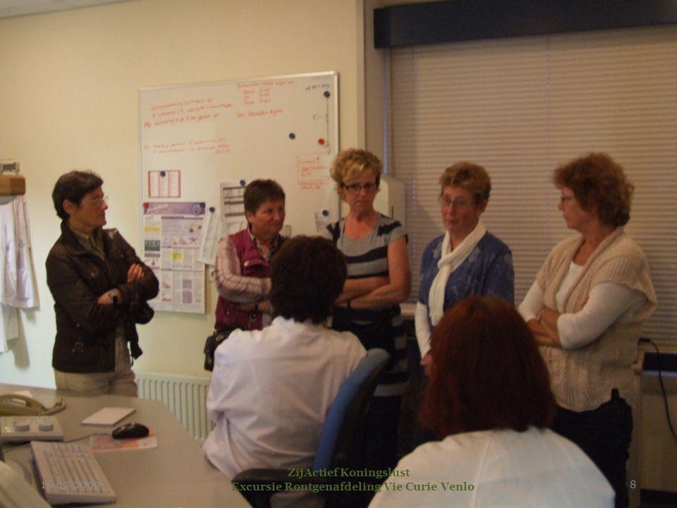 15-09-2009 ZijActief Koningslust Excursie Rontgenafdeling Vie Curie Venlo 8