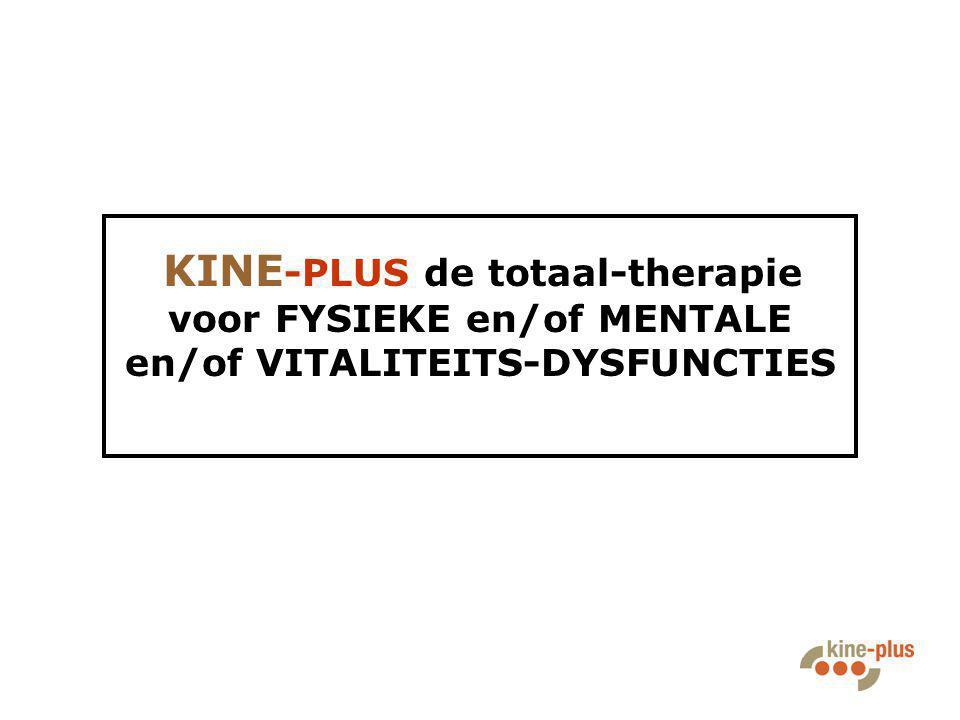 KINE-PLUS Bommelstraat 1 9840 De Pinte T.: 09 281 06 26 enkel behandelingen op afspraak ma t/m vrij 8u00–21u00