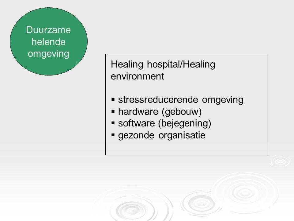 Oriëntatie op gezondheid en welzijn  Noodzaak van preventie  Gezonde leefstijl  Gezondheid positief definiëren in plaats van 'afwezigheid van ziekte'  Actieve rol van patiënt/zelfmanagement
