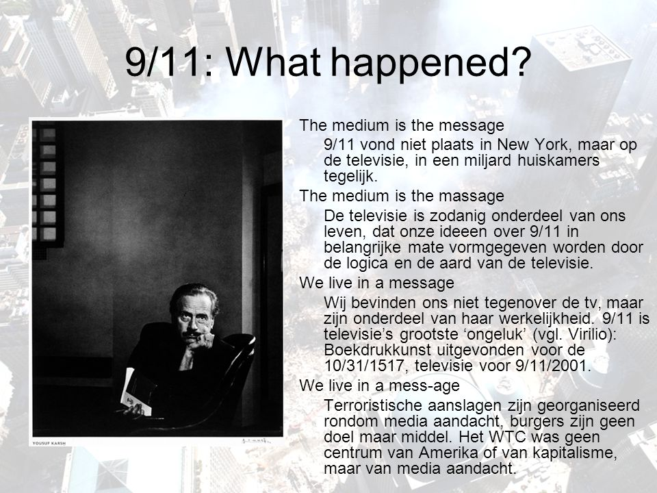 9/11: What happened.