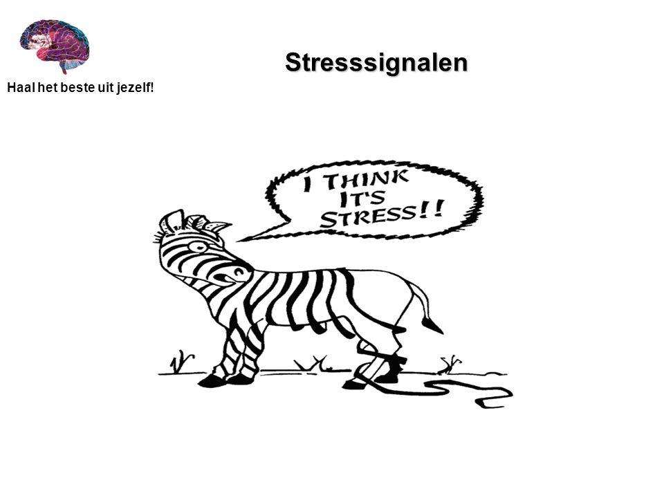 Haal het beste uit jezelf! Stresssignalen