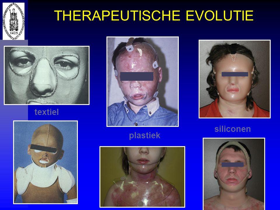 THERAPEUTISCHE EVOLUTIE textiel plastiek siliconen