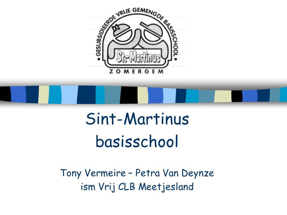 Sint-Martinus basisschool Tony Vermeire – Petra Van Deynze ism Vrij CLB Meetjesland