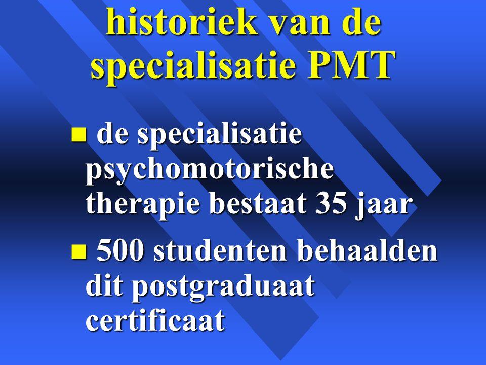 nieuwe beroepsperspectieven velen van hen vonden in dit domein nieuwe beroepsmogelijkheden in n psychiatrische instellingen n PMS centra.