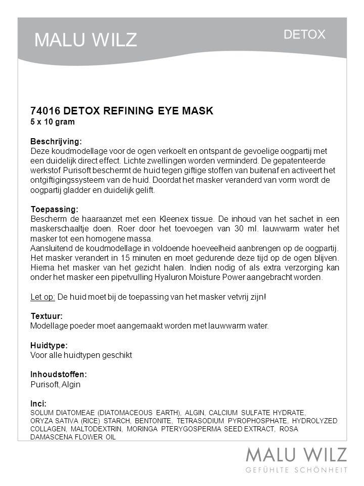 Etox 74015 DETOX CREAM MASK 200 ml Beschrijving: Vol Crème masker met bijzondere werkstoffen.