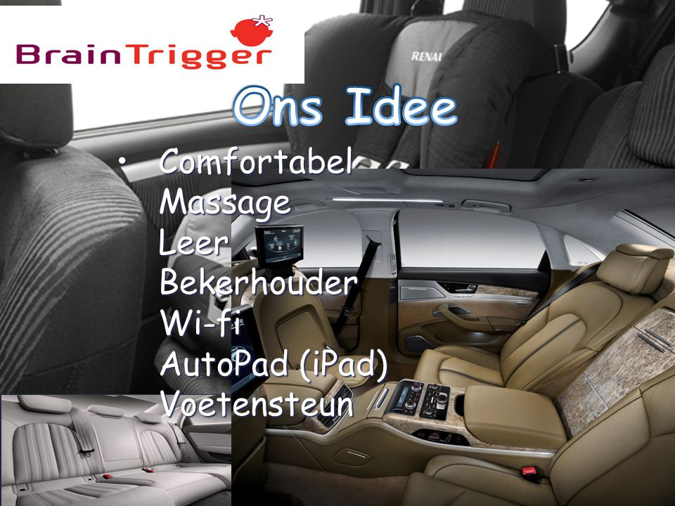 { Comfortabel Massage Leer Bekerhouder Wi-fi AutoPad (iPad) VoetensteunComfortabel Massage Leer Bekerhouder Wi-fi AutoPad (iPad) Voetensteun