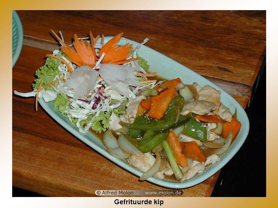 Thais Buffet (met grote keuze aan groenten & kruiden)