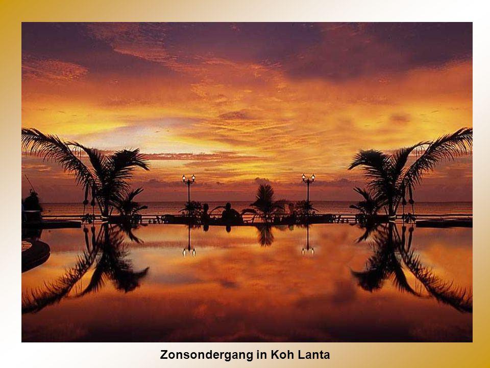 Zonsondergang in Koh Lanta