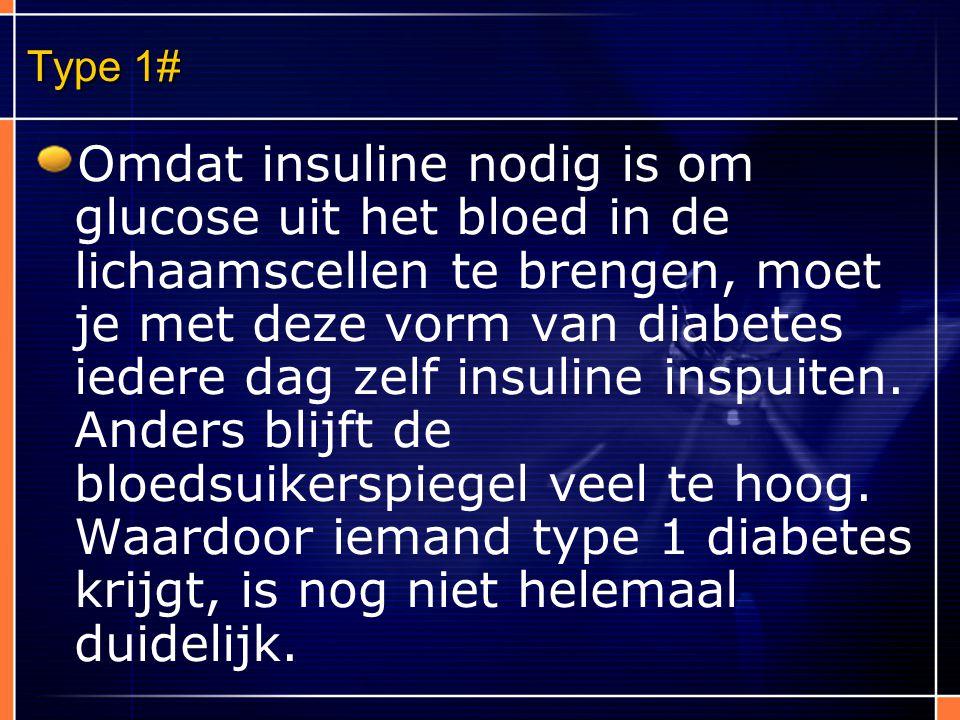 Nieuwe technieken Alternatieven voor bloed prikken geïmplanteerde glucose meter (verstopping) Meting van bloedglucose via een polshorloge, een eerdere uitvinding ( niet betrouwbaar)