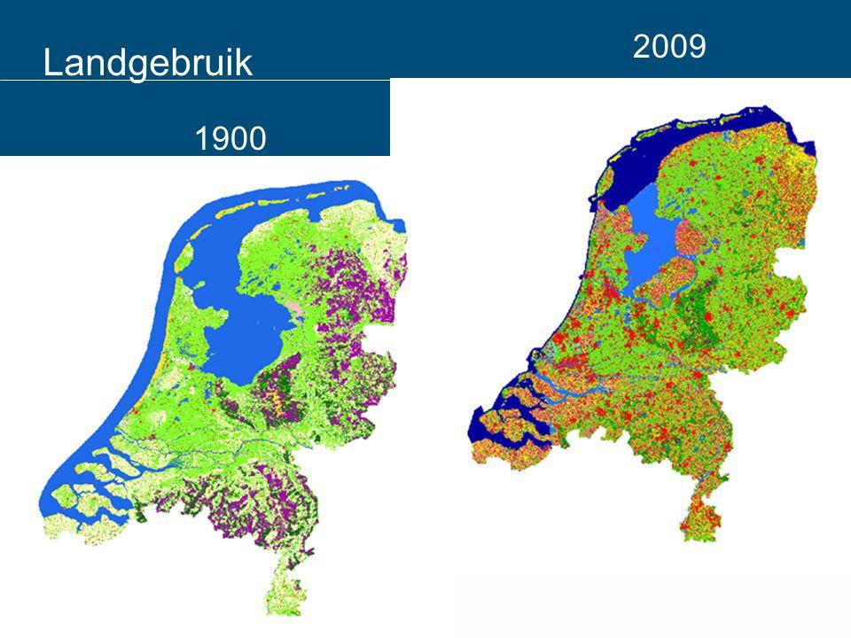 Landgebruik 1900 2009