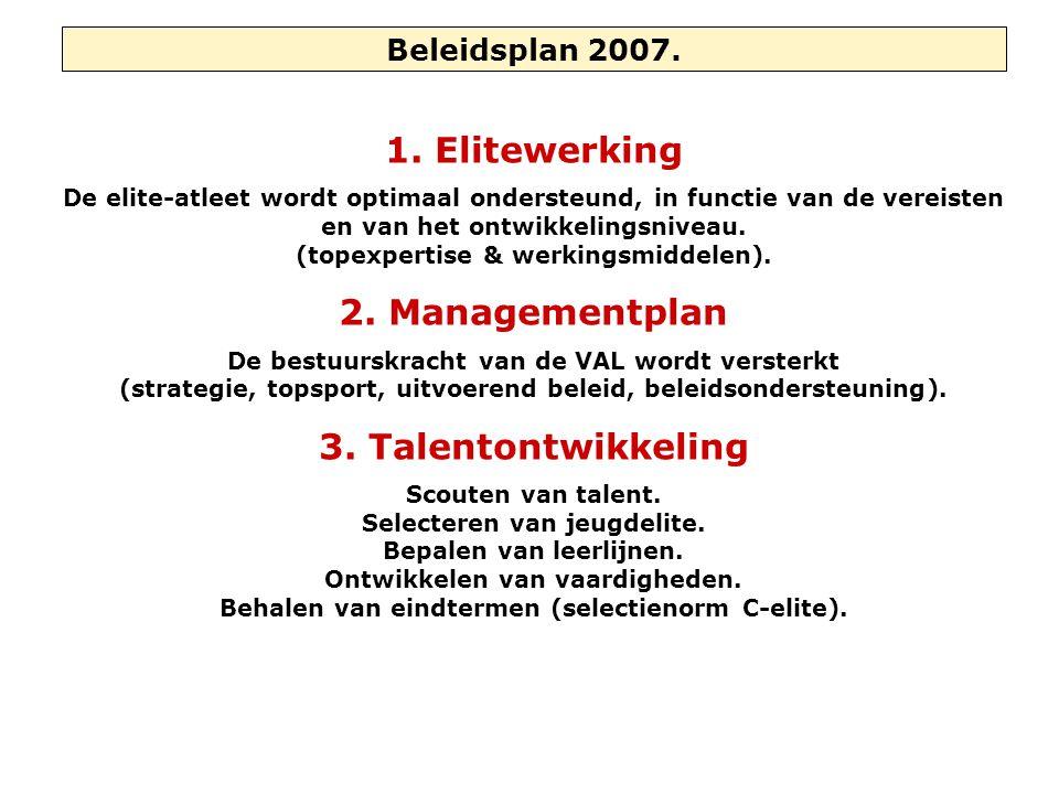 Beleidsplan 2007.1.