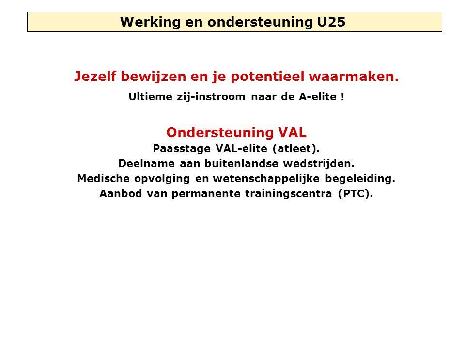 Werking en ondersteuning U25 Jezelf bewijzen en je potentieel waarmaken.