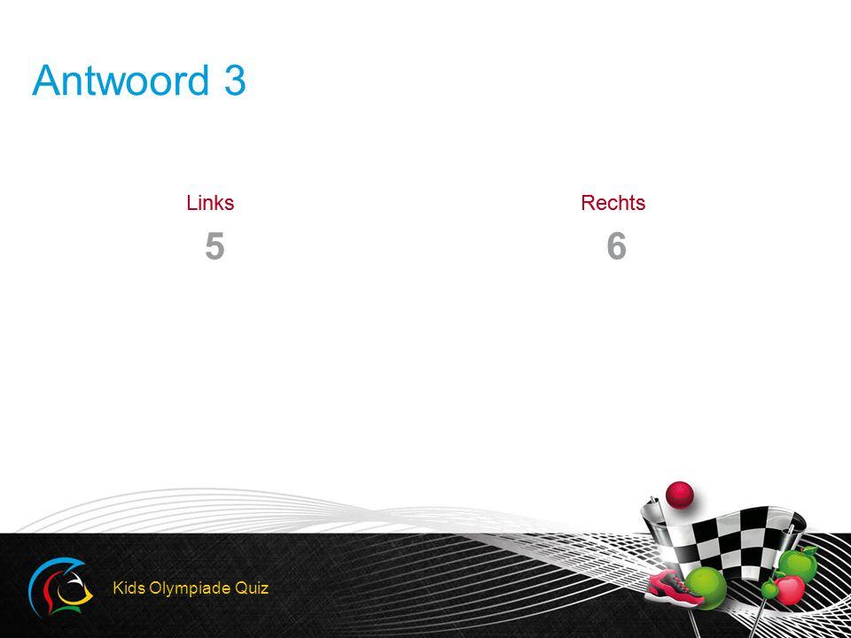 LinksRechtsLinksRechts Antwoord 3 56 Kids Olympiade Quiz