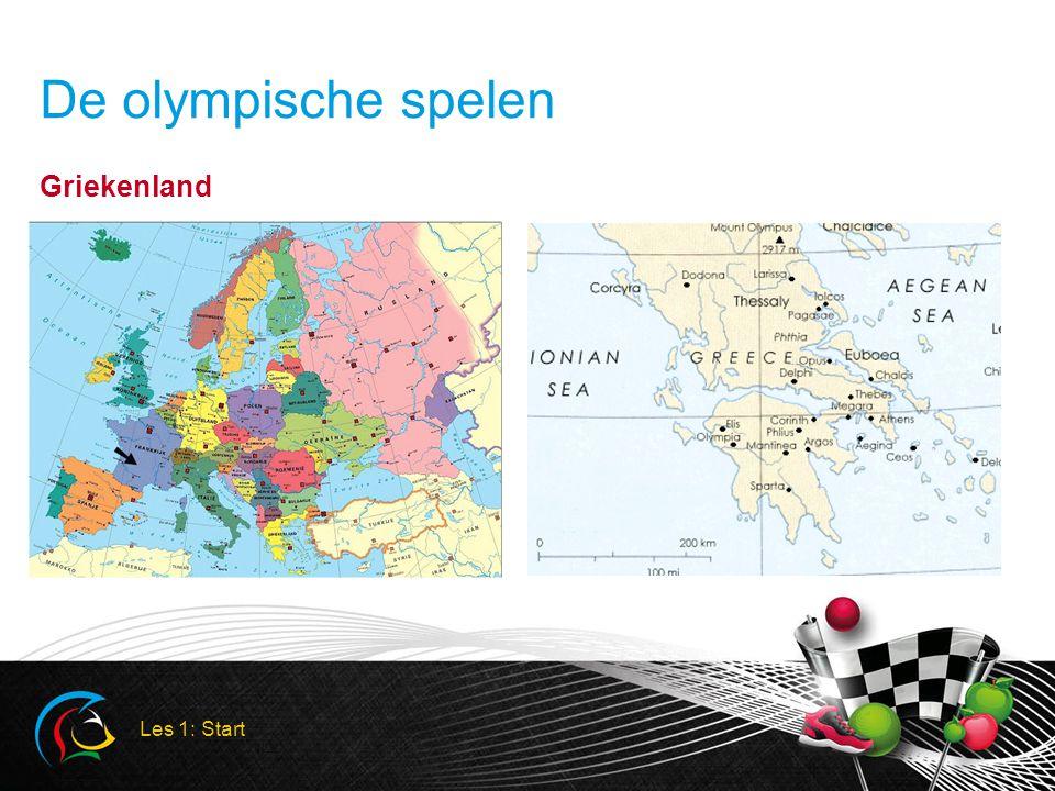 De olympische spelen Griekenland Les 1: Start