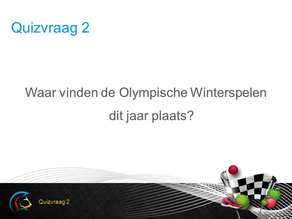 LinksRechtsLinksRechts Antwoord 2 SochiVancouver Kids Olympiade Quiz