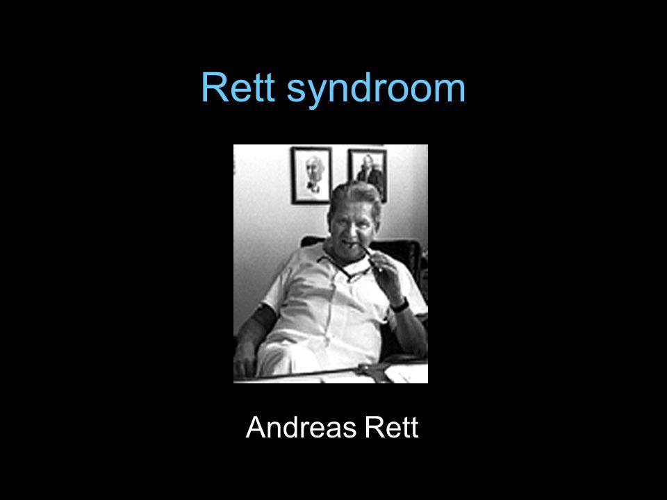 Rett syndroom Andreas Rett