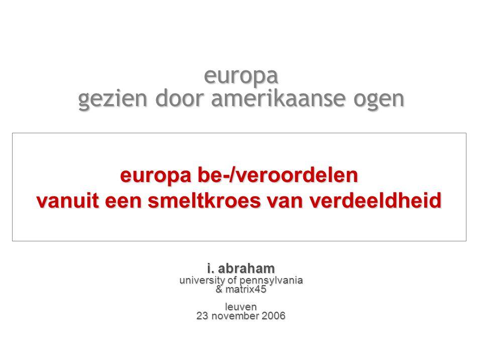 europa gezien door amerikaanse ogen i.