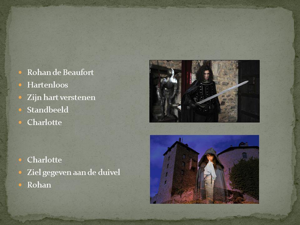 Rohan de Beaufort Hartenloos Zijn hart verstenen Standbeeld Charlotte Ziel gegeven aan de duivel Rohan