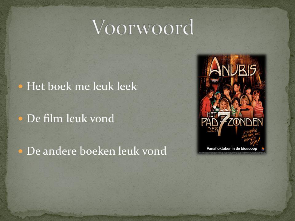 Het boek me leuk leek De film leuk vond De andere boeken leuk vond