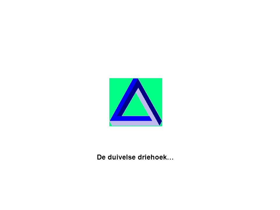 De duivelse driehoek…