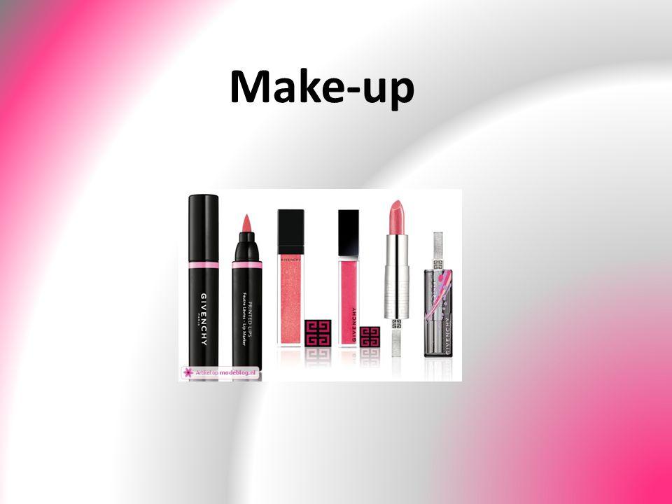 Waarom make-up.Make-up kun je gebruiken als afsluiting van een complete behandeling.