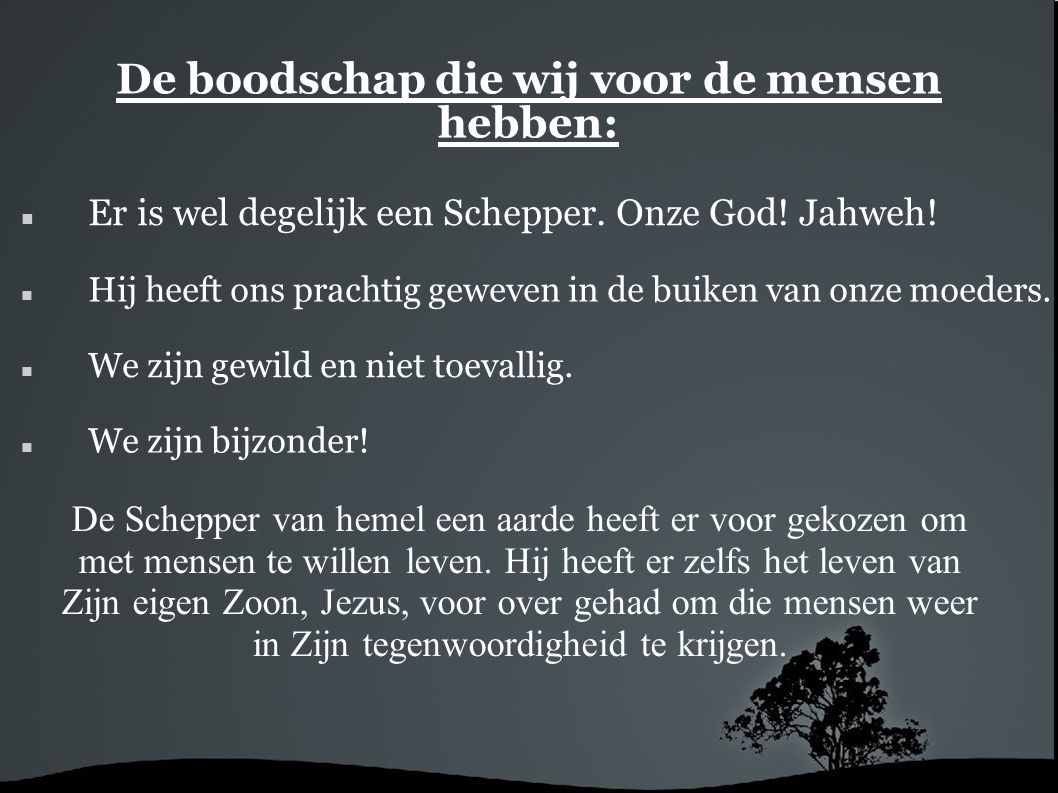 Naslagwerk: website s http://www.creatie.info/http://www.creatie.info/ (nederlands) http://www.verzwegenwetenschap.nl/http://www.verzwegenwetenschap.nl/ (nederlands) http://www.creationism.org/http://www.creationism.org/ (engels) http://nwcreation.net/http://nwcreation.net/ (engels) boeken: De bijbel (Here God) Degeneratie (Peter Scheele) Chistendom, onwijs?!(uitgeverij: Voorhoeve-Kampen) Toe nou, dat meen je niet.