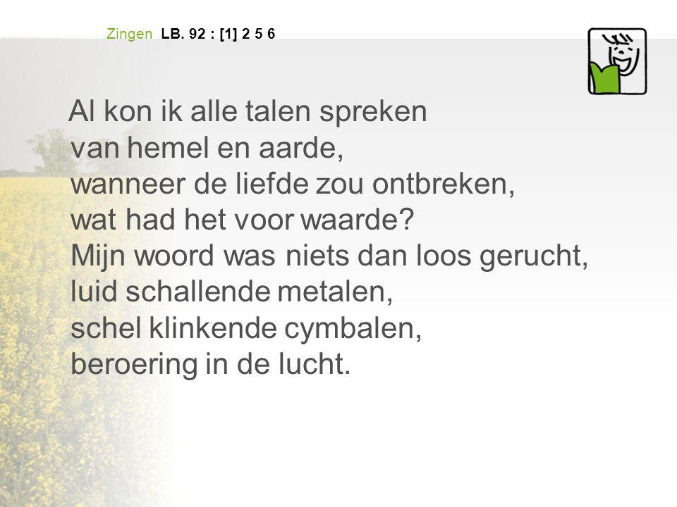 Zingen LB.