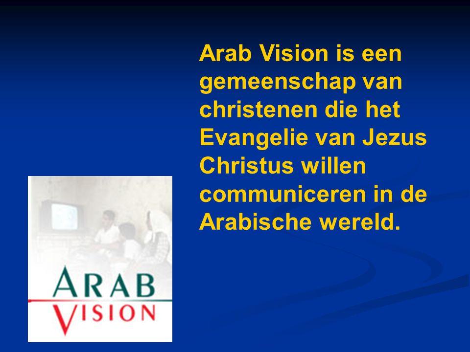 Arab Vision is een gemeenschap van christenen die het Evangelie van Jezus Christus willen communiceren in de Arabische wereld.