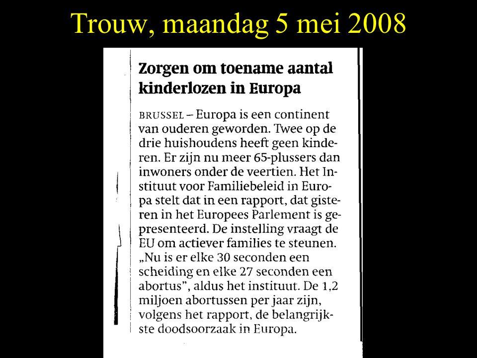 Trouw, maandag 5 mei 2008