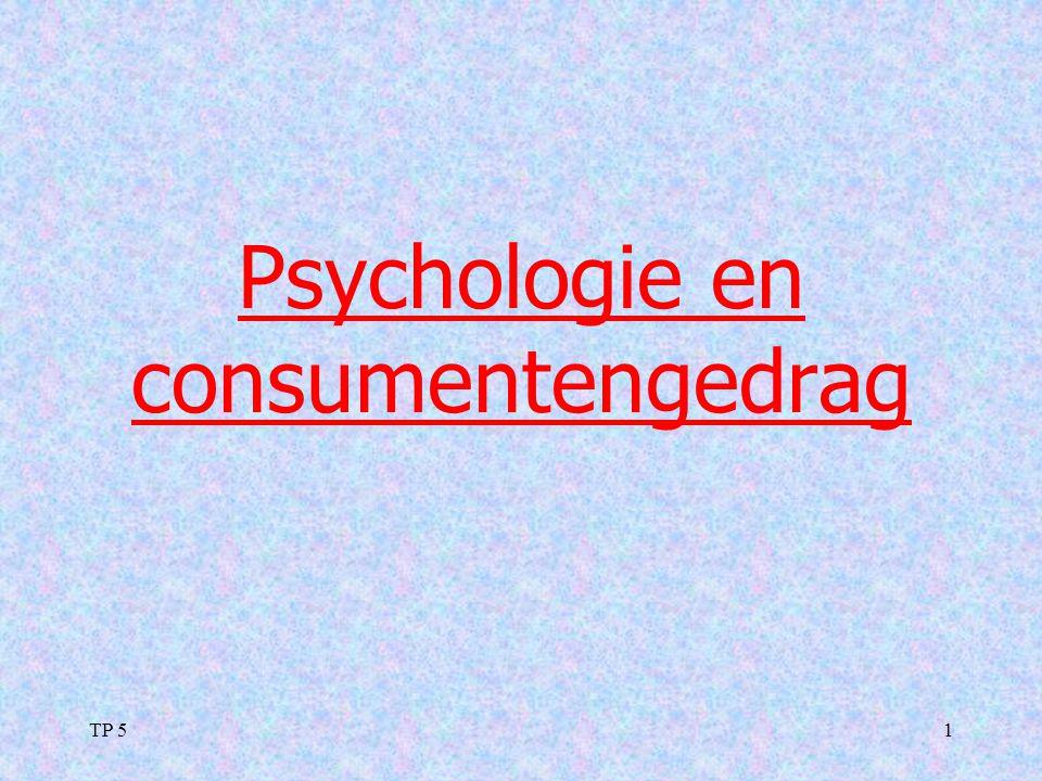 TP 51 Psychologie en consumentengedrag