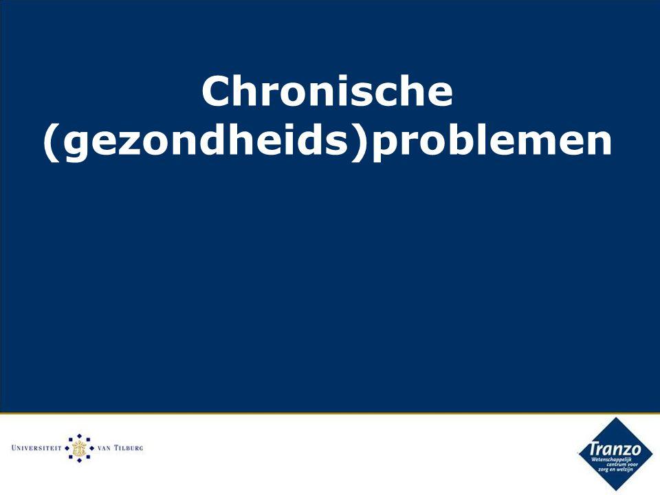 Chronische (gezondheids)problemen