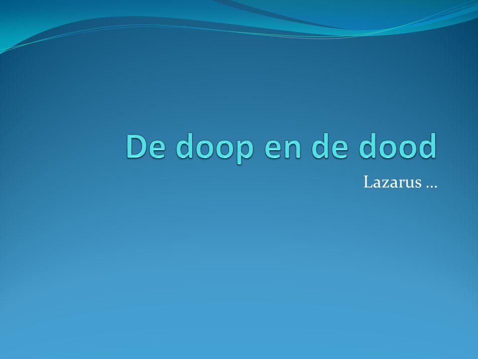Lazarus …