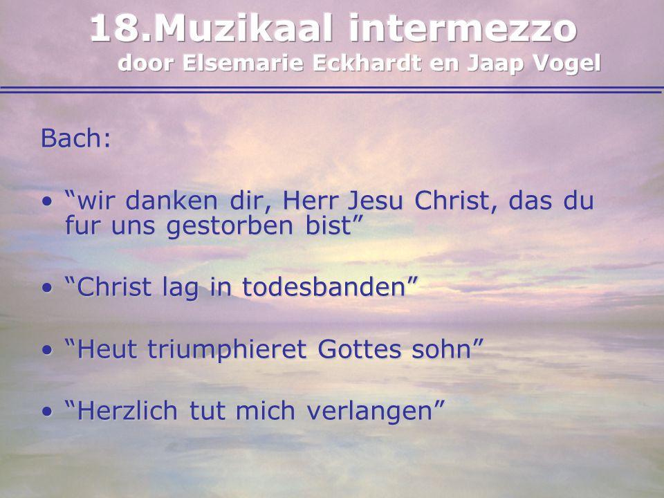 "Bach: ""wir danken dir, Herr Jesu Christ, das du fur uns gestorben bist""""wir danken dir, Herr Jesu Christ, das du fur uns gestorben bist"" ""Christ lag i"