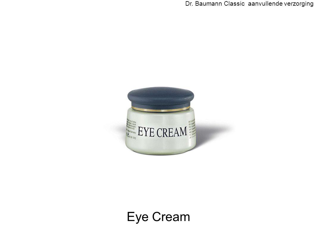 Eye Cream Dr. Baumann Classic aanvullende verzorging