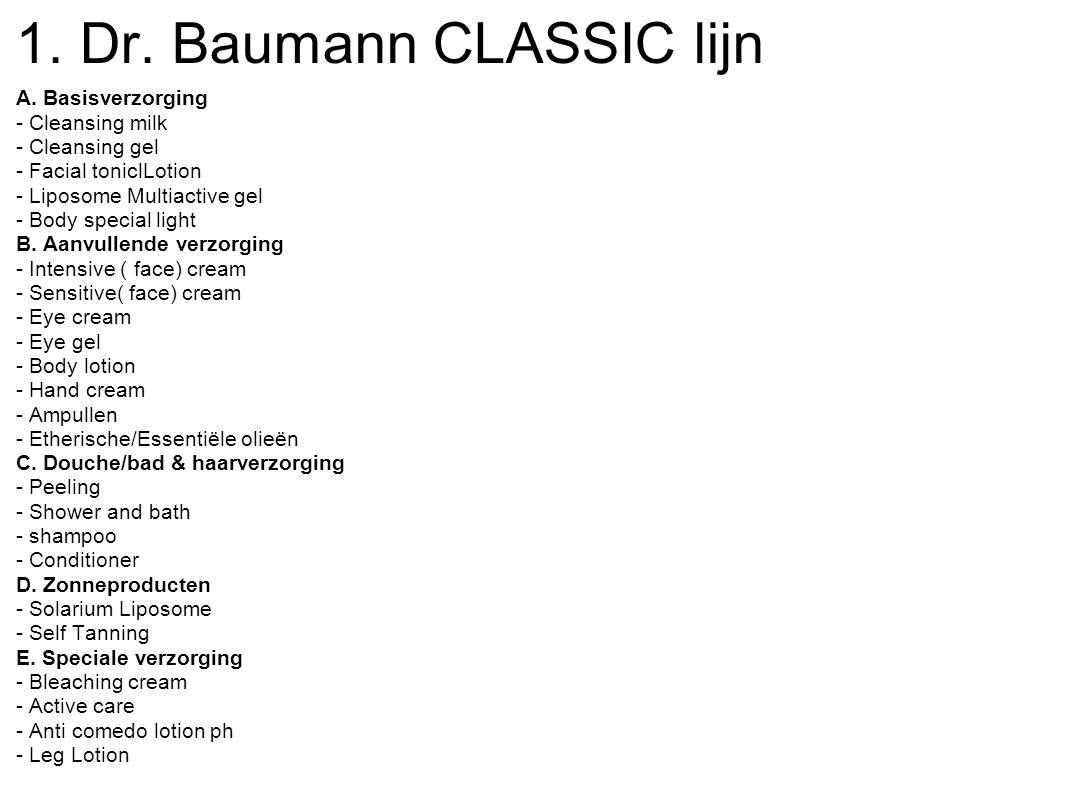 Sensitive Normal and Dry Skin Dr. Baumann Classic aanvullende verzorging