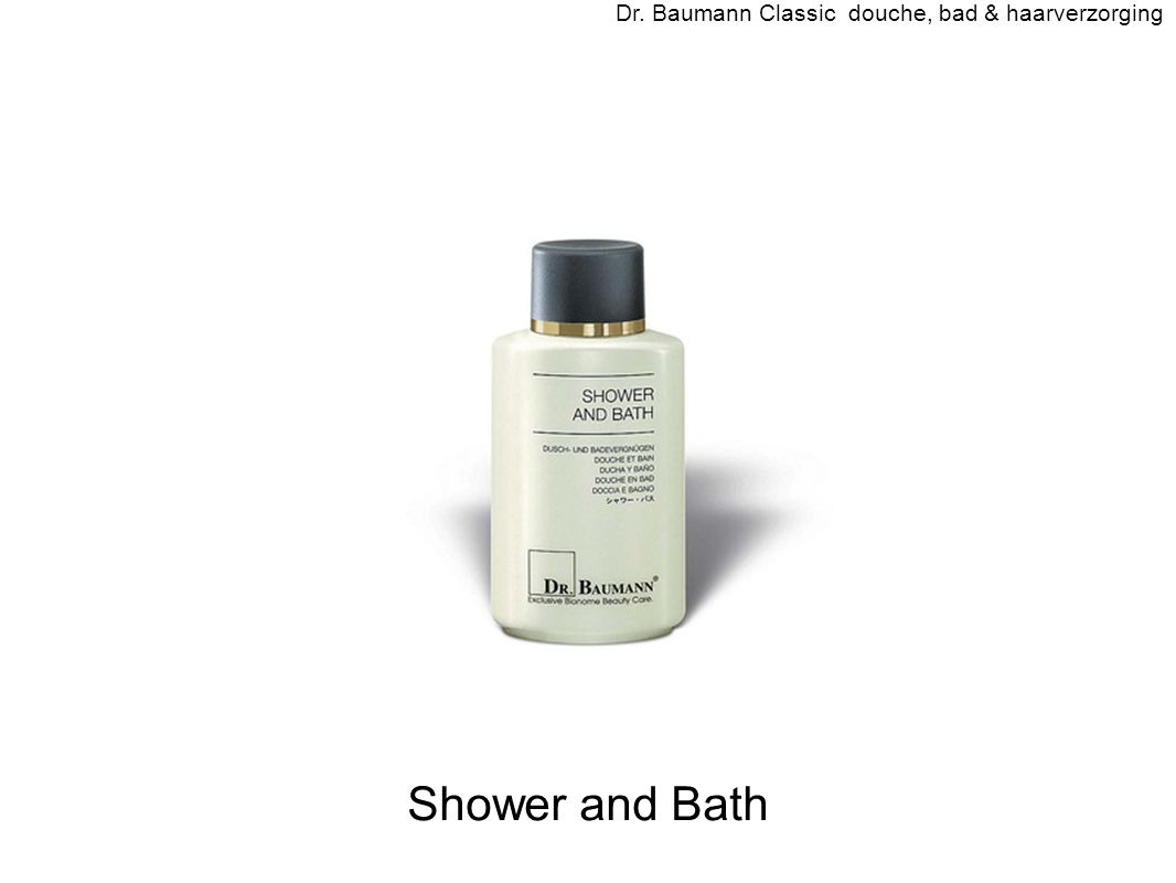 Shower and Bath Dr. Baumann Classic douche, bad & haarverzorging