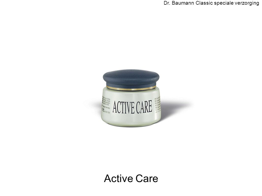 Active Care Dr. Baumann Classic speciale verzorging