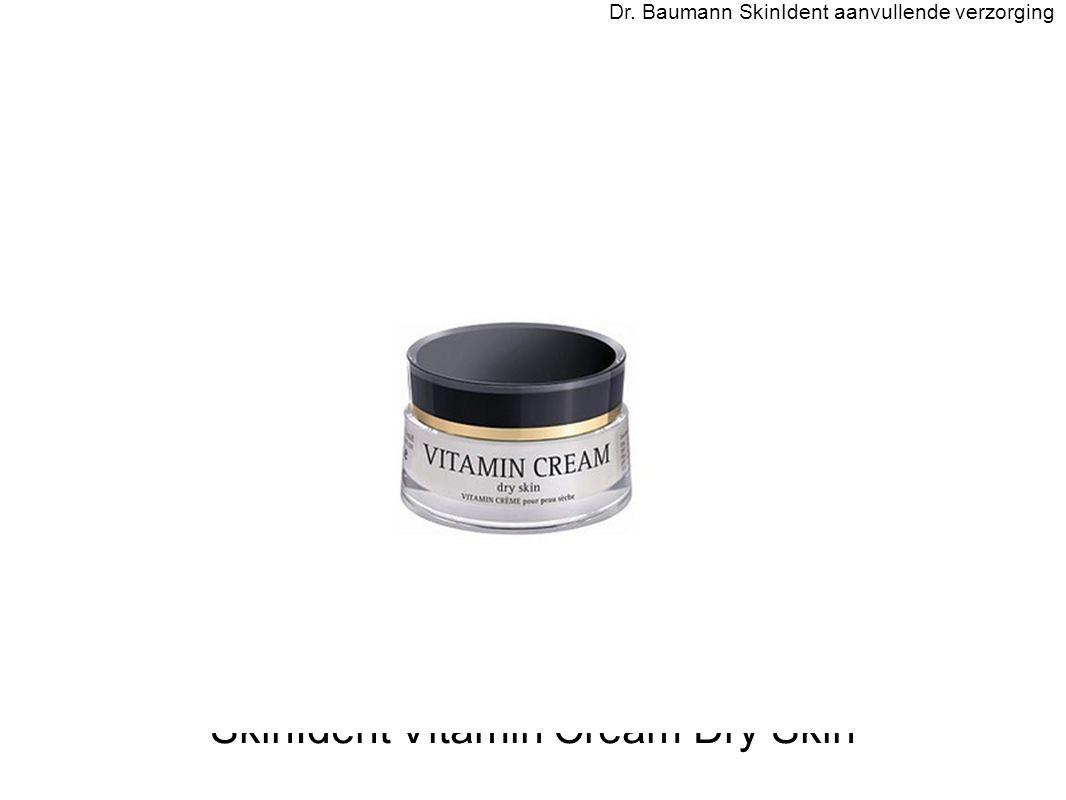 SkinIdent Vitamin Cream Dry Skin Dr. Baumann SkinIdent aanvullende verzorging
