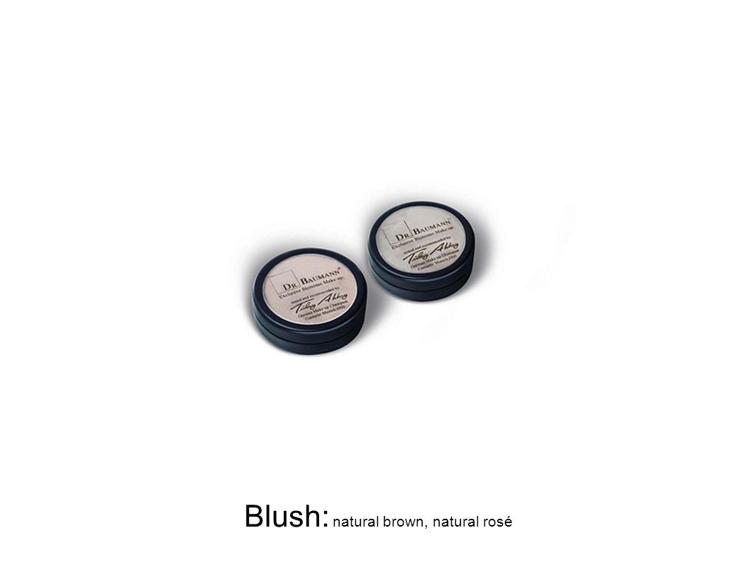 Blush: natural brown, natural rosé